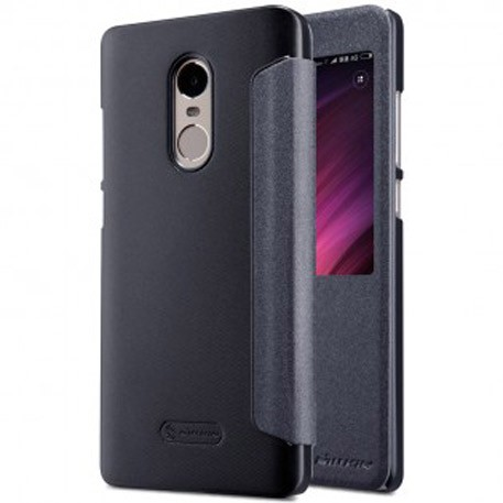 NILLKIN XIAOMI RedMi Note 4X Sparkle Leather Case Gray