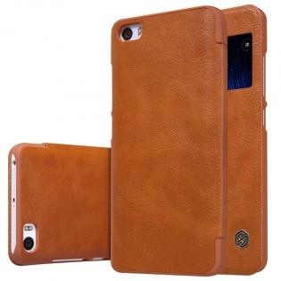 Nillkin Xiaomi Mi5 Qin Series Q-LC XM Case Brown