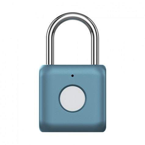 Uodi Fingerprint Padlock Kitty Lock Blue