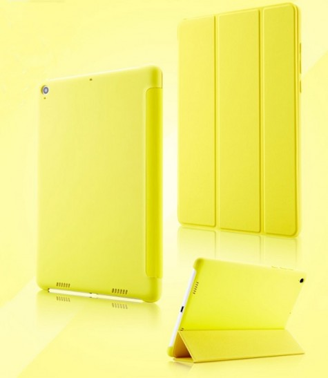 Xiaomi Mi Pad 2 Smart Flip Protective Case Yellow