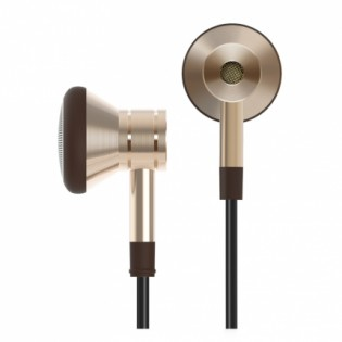 1More Design Piston Earbuds Gold