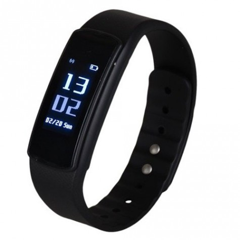 iWoWn i6 HR Smart Band Black
