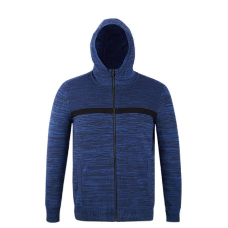Mitown Hooded Jacket Blue M