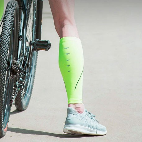 MITOWN Sports Compression Calf Sleeves Light Green (S)