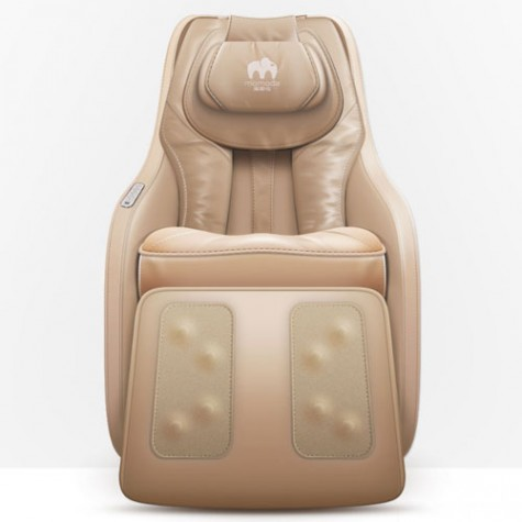 Momoda Smart Relaxing Massage Chair Brown Leather