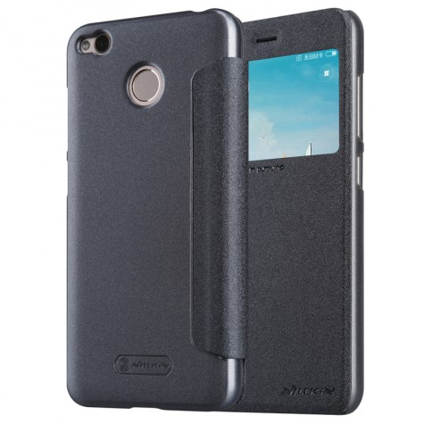 Nillkin Sparkle Leather Case for Xiaomi Redmi 4X Gray