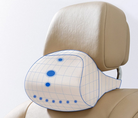 RoidMi Car Neck Pillow Biege