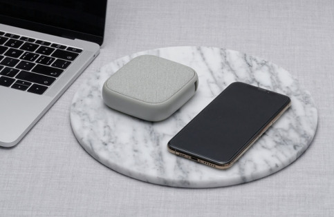 SOLOVE W5 10000mAh Wireless Charging Power Bank Silver
