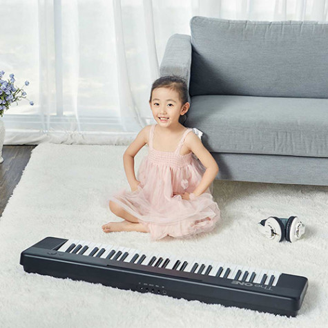 TheONE Smart Keyboard Air Synthesizer Black