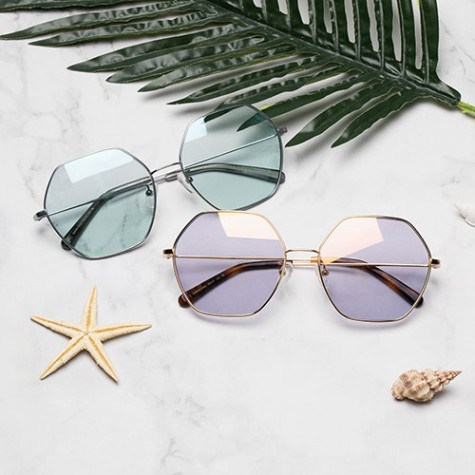 Xiaomi TS Fashion Sunglasses Geometric Shape Blue