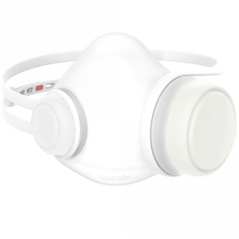 Woobi Play Children Air Purifying Respirator Mask White