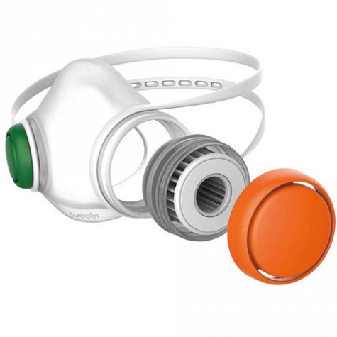 Woobi Play Children Air Purifying Respirator Mask Orange