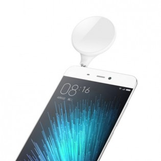 Xiaomi LED Selfie Flash Light 3.5mm Jack Plug White