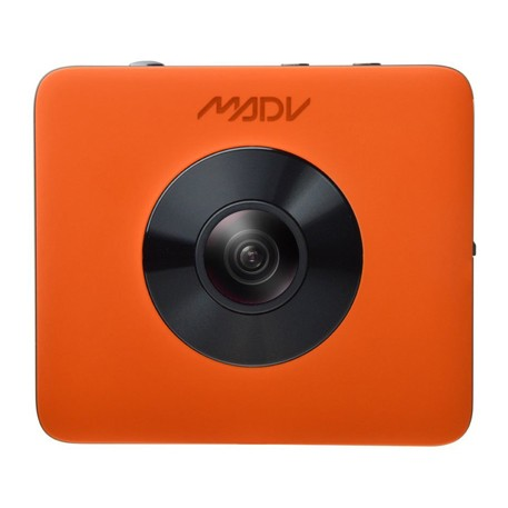MADV 360° Sphere Panoramic Camera Kit Orange