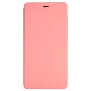 Xiaomi Mi 4c Leather Flip Case Pink