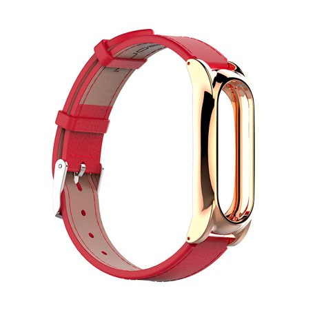 Xiaomi Mi Band 2 MiJobs Leather Strap Plus Red/Gold