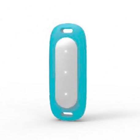 Xiaomi Mi Band MiJobs Silicone Necklace Pendant Case Turquoise