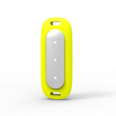 Xiaomi Mi Band MiJobs Silicone Necklace Pendant Case Yellow
