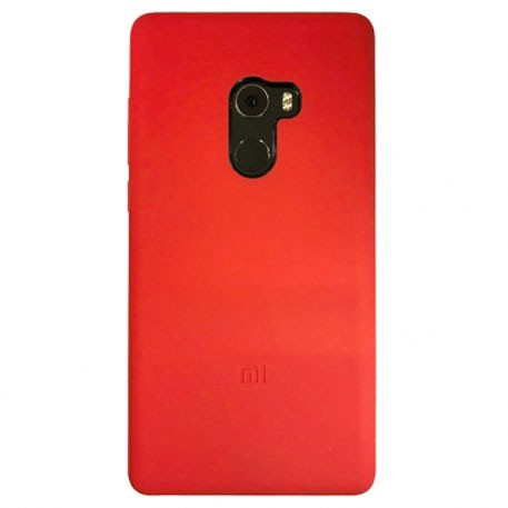 Xiaomi Mi MIX 2 Silicone Protective Case Red