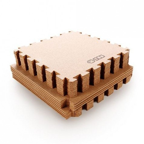 Xiaomi Natural Cork Mosaic Mats 119.2/62.2cm 8pcs