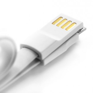 Qingmi Micro USB Fast Charging Cable 60cm Gray