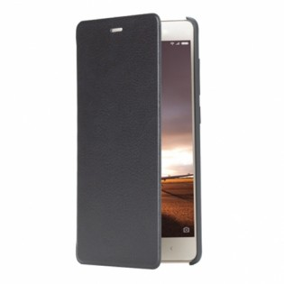Xiaomi Redmi 3 Pro / 3S Leather Flip Case Black