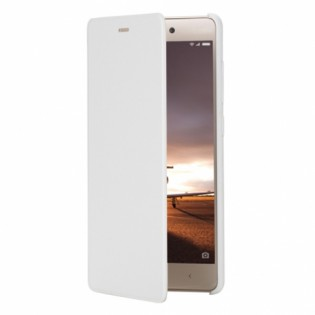 Xiaomi Redmi 3 Pro / 3S Leather Flip Case White