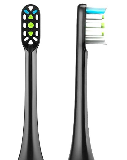 soocas X3 Clean Replacement Toothbrush Head (2 pcs. set) Black