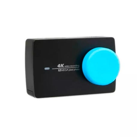 Yi Action Camera Universal Protective Lens Cover Blue