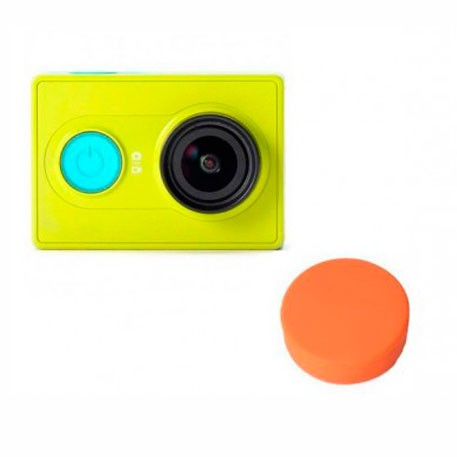 Yi Action Camera Universal Protective Lens Cover Orange