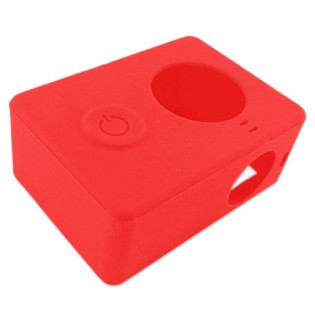 Xiaomi Yi Action Camera Silicone Protective Case Red