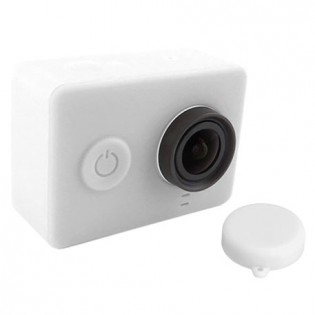 Yi Action Camera Silicone Protective Case White