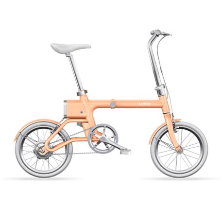 Yunbike UMA Mini Foldable Bicycle Orange