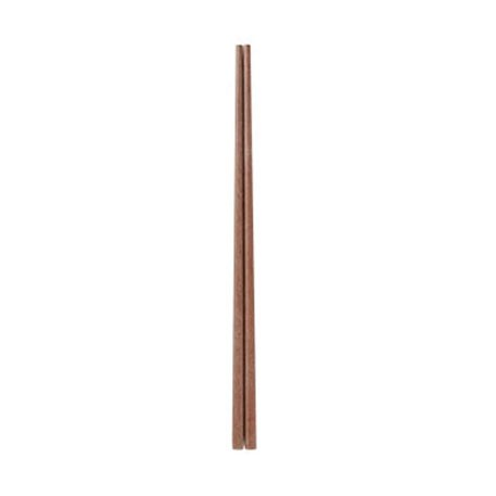 Yi Wu Yi Shi Natural Wood Chopsticks Wenge Set 10 pcs.