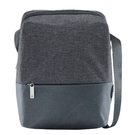 RunMi 90 Points GOFUN Urban Simple Messenger Bag Dark Gray