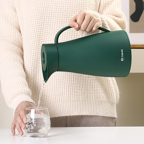 Tomic Vacuum Insulation Thermos Green