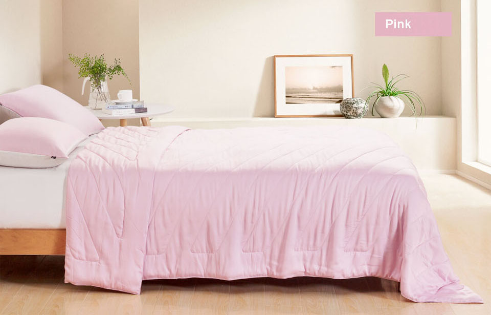 Tonight Bed Blanket 200x230mm Pink