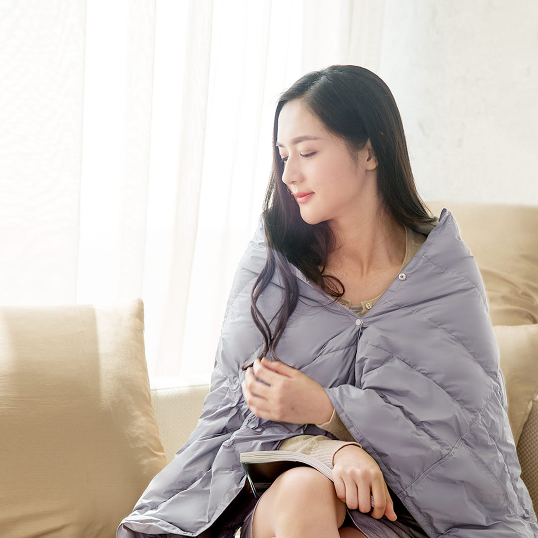 Tonight Portable Multi-Functional Blanket 140x80cm Gray