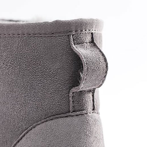 UREVO Casual Wool Boots Gray 40