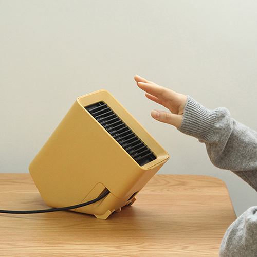 VH desktop heater Yellow
