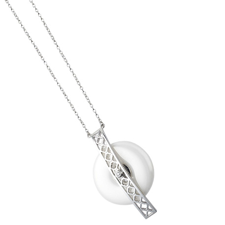 Amazfit Li An Xin Bridge Pendant Necklace Silver