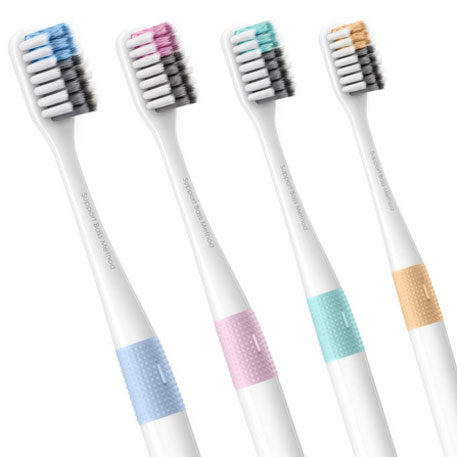 Doctor B Bass Method Toothbrush Blue