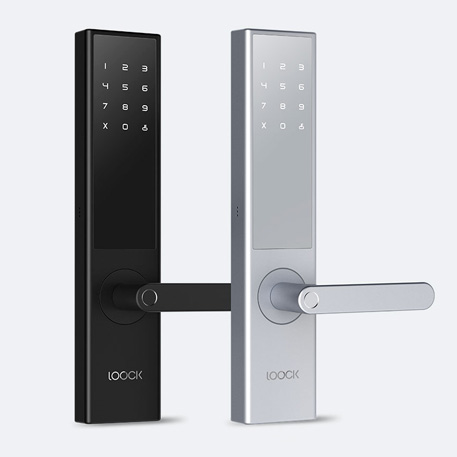 Loock Intelligent Fingerprint Door Lock Classic Black
