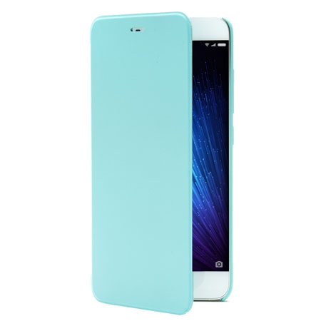 Xiaomi MI 5 Leather Flip Case Blue
