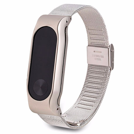 Xiaomi Mi Band 2 Stainless Steel Strap Gray