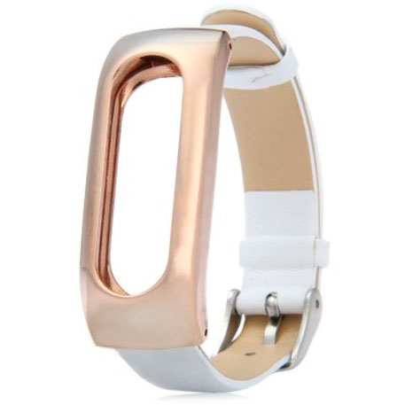 Xiaomi Mi Band Leather Strap White