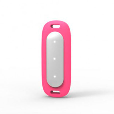 Xiaomi Mi Band MiJobs Silicone Necklace Pendant Case Pink