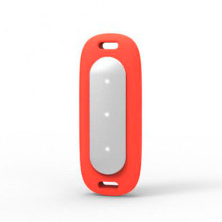 Xiaomi Mi Band MiJobs Silicone Necklace Pendant Case Red