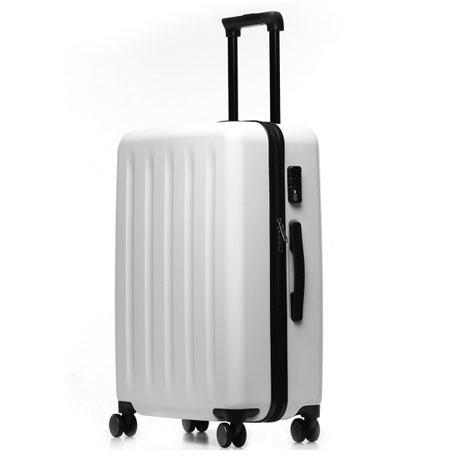 "Xiaomi Trolley 90 Points Suitcase 24"" White Moon Light"