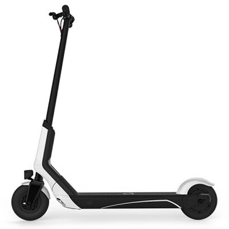 QiCycle EUNi Electric Scooter Yellow